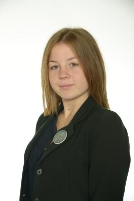 Mokyklos prezidentė Laura